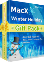 MacX Winter Holiday Gift Pack (for Windows) discount coupon