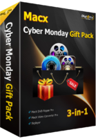 MacX Cyber Monday Gift Pack discount coupon