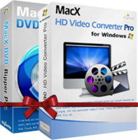 MacX DVD Video Converter Pro Pack for Windows(Personal License) discounted