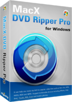 MacX DVD Ripper Pro for Windows Screen shot