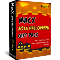 MacX Halloween Gift Pack Screen shot