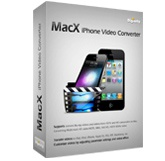 MacX iPhone Video Converter Screen shot