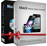 <p><strong>MacX iPhone DVD Video Converter Pack</strong>, bundled with MacX  iPhone Video Converter and MacX iPhone DVD Ripper, can rip DVD and convert video  for Mac users with a few clicks. To enjoy DVD and video files on your iPhone,  iPod, iPad, you need to transform them first since Apple Devices can only play  certain video formats.</p> <p>This pack is designed for <strong>ripping DVD to iPhone MP4, H.264, MPEG4,  MOV</strong> and convert HD & SD videos, such as <strong>AVCHD, MKV, M2TS,  MTS, MOD, TOD, AVI, MP4, WMV, MOV, FLV, 3GP, ASF, WebM,</strong> etc for watch  DVD and videos on iPhone, iPod, iPad, Mac, QuickTime, etc.</p>
