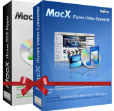 MacX iTunes DVD Vide Converter Pack Screen shot