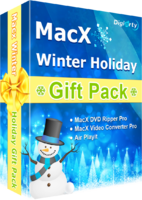MacX Winter Holiday Gift Pack Screen shot