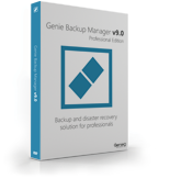 Genie Backup Manager Professional 9 – 3 Pack discount coupon