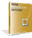 10% Off discount Coupon code forGenie Archive for Outlook