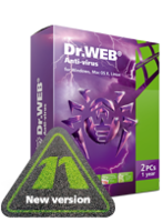 Home products (Dr.Web Anti-Virus), License renewal