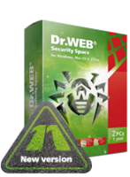 Home products (Dr.Web Security Space)+Free protection for mobile device! discount coupon